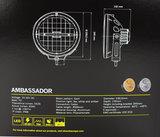 """STRANDS AMBASSADOR 9"""" - LED SPOTLIGHT - AMBER/WHITE_"""