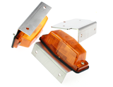 mounting frame double burner