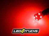 RED - 9xSMD LED 10-30V - BA15s_