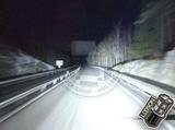 "LEDSON Pollux9= - 9"" LED SPOTLIGHT ORANGE/WHITE POSITIONLIGHTS - 120W - DRIVING BEAM_"