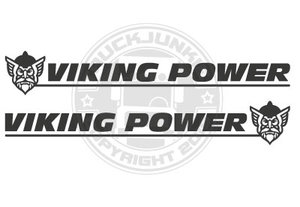 VIKVING POWER -NEW- SIDE WINDOW STICKER