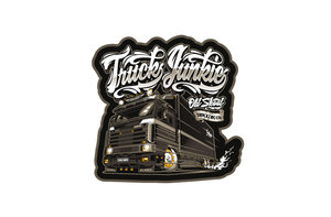 TJ OLDSKOOL TRUCKING CO. - FULL PRINT STICKER