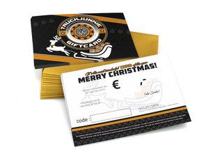 MERRY CHRISTMAS - GIFT VOUCHER - TRUCKJUNKIE