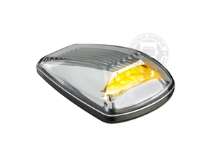 LED TOPLIGHT / MARKER LAMP - 9-32V - CLEAR GLASS