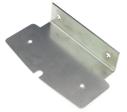 MOUNTINGFRAME SIDE MARKER - DOUBLE BURNER - STAINLESS STEEL