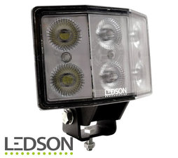 LEDSON - Hydra ANGLED WORKING LIGHT 60W - DIFFUSED LENS