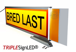 TripleSign®  260 x 965 x 25 mm