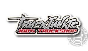 100% TRUCKSHOP - FULL PRINT STICKER