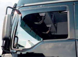 MAN TGA / TGX - SIDE WINDOW DEFLECTORS SUITABLE FOR MAN TGA / TGX