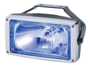 SPOTLIGHT - SUITABLE FOR SCANIA SUN VISOR - BLUE GLASS