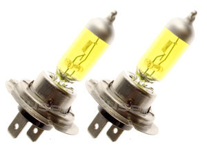 H7 YELLOW  24 volt 70W