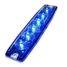 ULTRA THIN FLASHER - 6 LED - BLUE