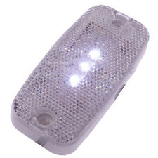 SIDE MARKER LIGHT 3 LED - WHITE 9~36V