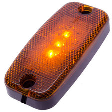 SIDE MARKER LIGHT 3 LED - ORANGE 9~36V