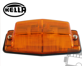HELLA - AUXILIARY INDICATOR MARKER LAMP - DOUBLE SOCKET ORANGE