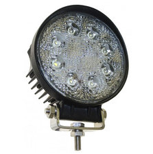 LEDSON 8x3W WORKING LAMP - ROUND