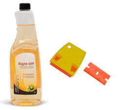 GLUE REMOVE SET - GLUE REMOVER + SCRAPER