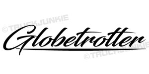 GLOBETROTTER - STICKER