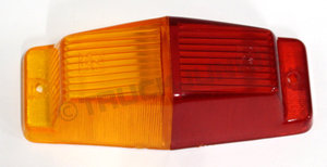 LENS - RED/ORANGE MARKERLAMP