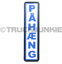 PAHAENG SIGN BLUE - 40X10CM