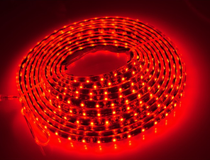 RED - FLEXISTRIP LED - IP68 OUTDOOR USE