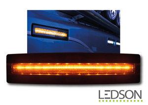AMBER - LEDSON OPTOLINE - SUNVISOR POSITION LAMP - NEXT GENERATION LOOK