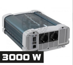 3000W - PURE SINE INVERTER - PURE POWER 24-220V