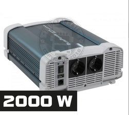 2000W - PURE SINE INVERTER - PURE POWER 24-220V