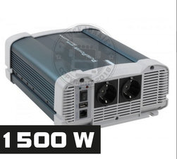 1500W - PURE SINE INVERTER - PURE POWER 24-220V