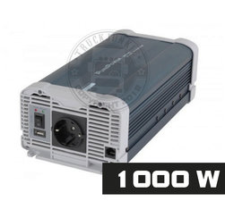 1000W - PURE SINE INVERTER - PURE POWER 24-220V