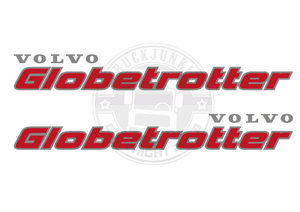 VOLVO GLOBETROTTER - TWO TONE STICKER