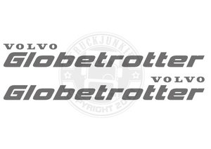 VO GLOBETROTTER - STICKER