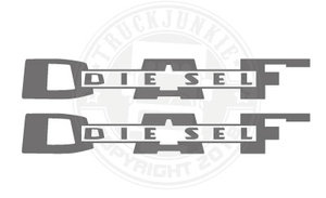 DAF DIESEL OLD - STICKER