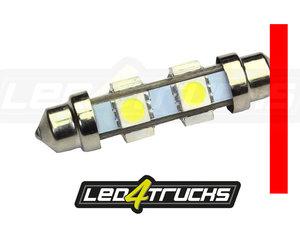 RED - 6xSMD LED 24-28V - FESTOON