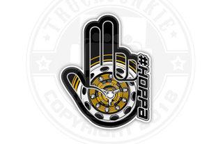#HOPPA HAND - FULL PRINT STICKER