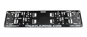 TRUCKJUNKIE.COM - LICENSE PLATE HOLDER