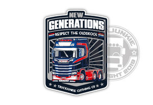 NEW GENERATIONS - FULL PRINT STICKER