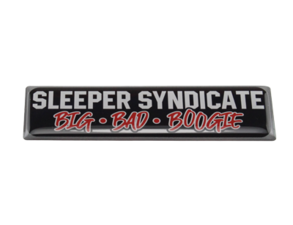 SLEEPER SYNDICATE BBB - 3D DELUXE FULL PRINT STICKER