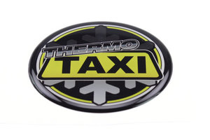 THERMO TAXI - 3D DELUXE FULL PRINT STICKER