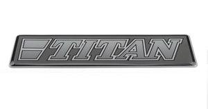 TITAN GREY - 3D DELUXE FULL PRINT STICKER