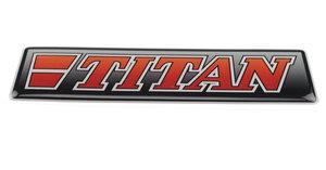 TITAN RED - 3D DELUXE FULL PRINT STICKER