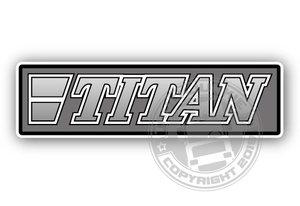 TITAN  - FULL PRINT STICKER