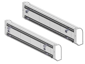 ILLUMILED MOUNTING BRACKETS - MOUNTING AGAINST FRONT OF CAB