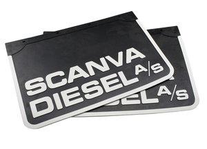 SCANVA DIESEL A/S - RUBBER MUDFLAP - 60X40CM