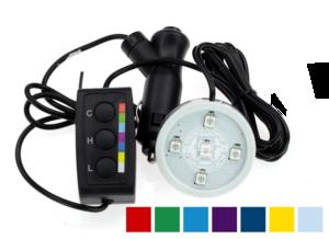 POPPY LED - 5 LED - RGB - 12/24V