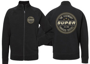 SWEAT JACKET - SUPER CHARGED DIESEL