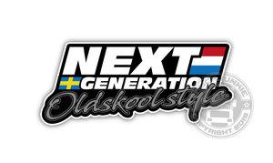NEXT GENERATION OLDSKOOL STYLE - FULL PRINT STICKER