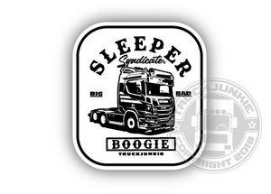 SLEEPER SYNDICATE SNEEPELS STYLE - FULL PRINT STICKER
