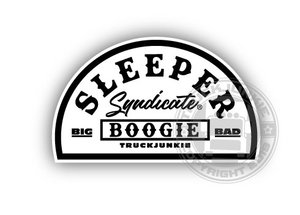 SLEEPER SYNDICATE BLACK/WHITE - FULL PRINT STICKER