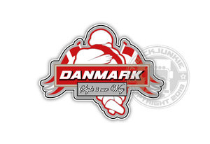 DANMARK - STYE IS OUR WAY - - FULL PRINT STICKER
